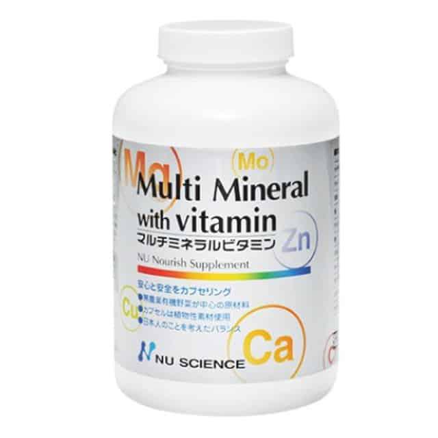 マルチミネラルビタミン