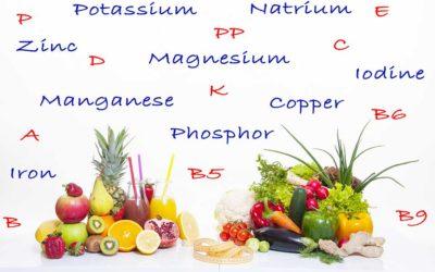 ビタミンとミネラル