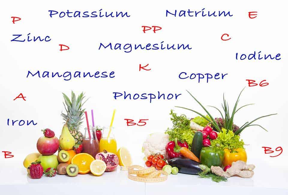 ビタミンとミネラルを同時に摂取すると吸収効率が上がる?