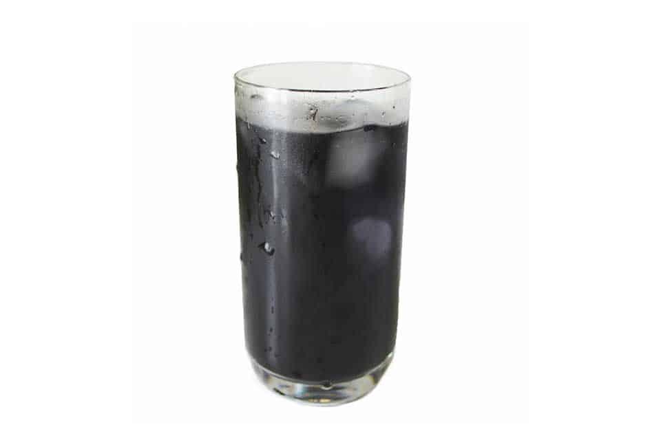 食用活性炭の飲料
