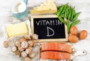 ビタミンDの豊富な食材