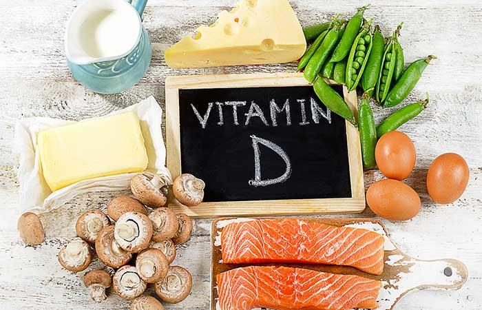 ビタミンDとビタミンDが豊富な食品