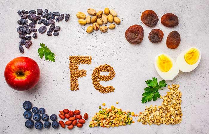 鉄分と鉄分豊富な食品