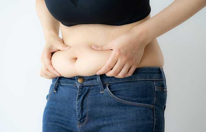 肥満なお腹の贅肉