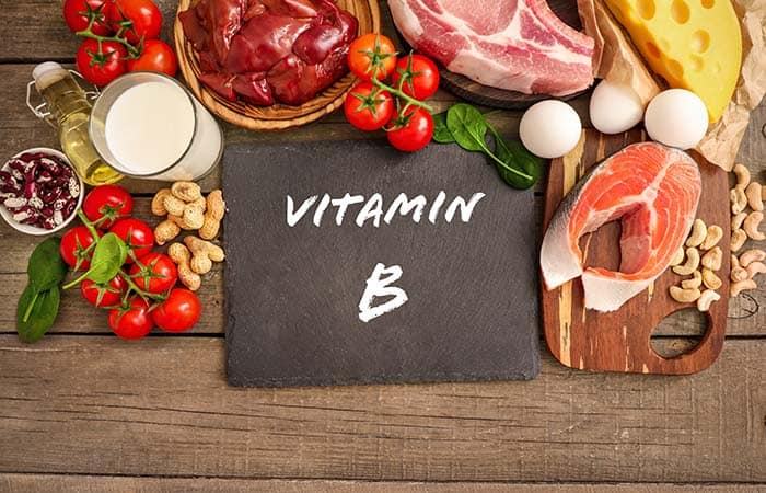 ビタミンB群が豊富な食品