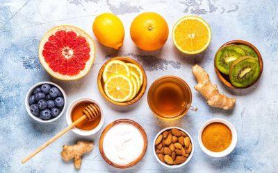 免疫力アップが期待できる食品