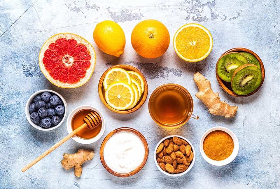 免疫力アップに期待できる栄養素・成分!ウィルスに負けない体作り