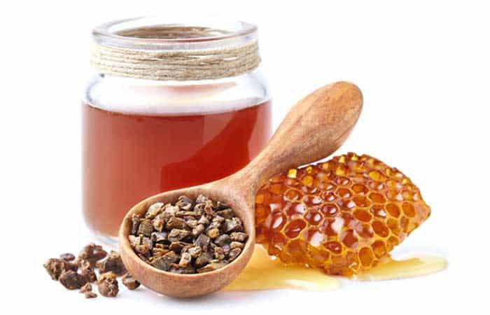 プロポリスが豊富なハチミツ