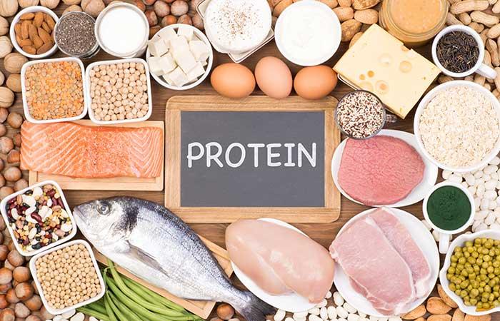 タンパク質が豊富な食材
