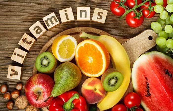 ビタミンが豊富な食材